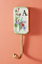 Anthropologie Aria Monogram Hook