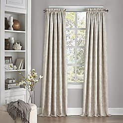 Ellery Homestyles ECLIPSE Blackout Curtains for Bedroom-Mallory 52 x 95 Insulated Darkening Single Panel Grommet Top Window Treatment Living Room, Ivory