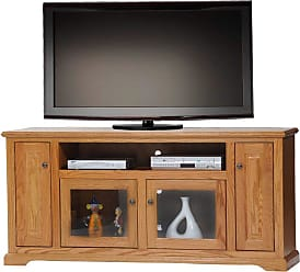 American Heartland 67.5 in. Deluxe Oak Entertainment Console - Assorted Finishes - 63866LT