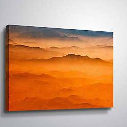 Brushstone Sierra Nevada by Scott Medwetz Gallery Wrapped Canvas, Size: 36x54 - 0MED888C3654W