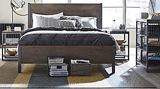 Home Styles Barnside Metro Brown King Bed, 2 Night stands with Chest by Home Styles