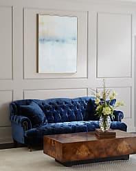 Haute House Home Divine Tufted Crushed Velvet Sofa 77