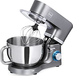 Best Choice Products 6.3qt 660W 6-Speed Tilt-Head Stainless Steel Kitchen Stand Mixer w/ 3 Attachments, Splash Guard - Gray
