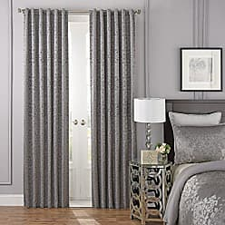 Ellery Homestyles Beautyrest Blackout Curtains for Bedroom - La Salle 84 x 52 Insulated Darkening Single Panel Rod Pocket Window Treatment, 52 x 84, Pewter