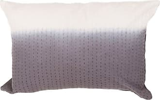 Jaipur Living Rugs Jaipur Tribal Cotton Modern Decorative Pillow Blue Sapphire / Birch Polyester Fill - PLW102163