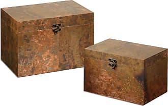 Uttermost Ambrosia Copper Boxes S/2
