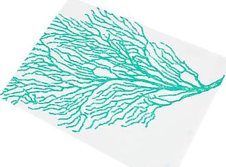 Marinette Saint Tropez Bonifacio Coated Table Cloth - Lagoon - 160x260cm