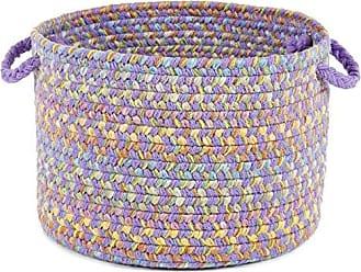 Rhody Rug Sandbox Violet Multi 18 x 12 Basket