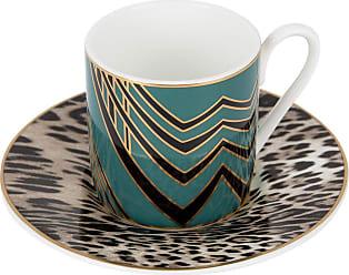 Roberto Cavalli Deco Espresso Cup & Saucer