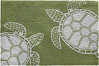 Liora Manne Capri Green Turtle Indoor / Outdoor Rug - CAPR8163416