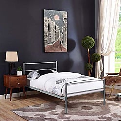 ModWay Modway Alina Twin Size Platform Bed Frame In Gray