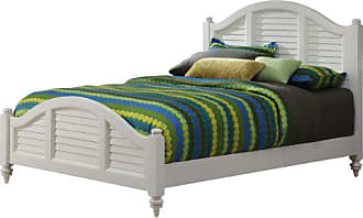 Home Styles Bermuda White Brushed King Bed Frame by Home Styles