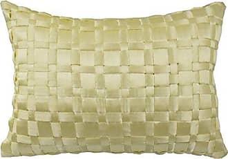 Ellery Homestyles WAVERLY Floral Engagement Decorative Pillow, 12 x 18, Porcelain