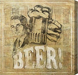 Hatcher & Ethan Beer Canvas Art - HE10249_16X16_CANV_XHD_HE