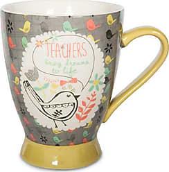 Pavilion Gift Company 74039 Teacher Ceramic Mug, 16 oz, Multicolored