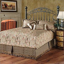 Hillsdale Furniture Hillsdale Furniture 1335HQR Chesapeake Headboard with Rails, Full/Queen, Rustic Old Brown