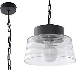 Sollux Lighting Lagos 3 Suspension en acier Noir