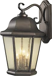 Feiss Sea Gull Lighting Martinsville 12 Outdoor Wall Lantern in Corinthian Bronze