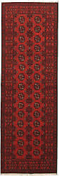 Nain Trading Afghan Akhche Rug 711x27 Runner Dark Brown/Rust (Afghanistan, Wool, Hand-Knotted)