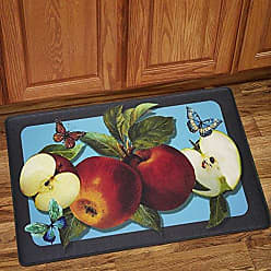 Sweet Home Collection Memory Foam Anti Fatigue Kitchen Floor Mat, 30 x 18, Golden Delicious