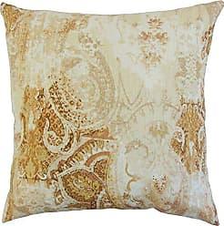 The Pillow Collection Havilah Floral Pillow, Amber