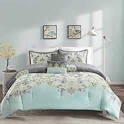 INTELLIGENT DESIGN ID10-818 Zana Comforter Set Twin XL Aqua, Twin/Twin X-Large