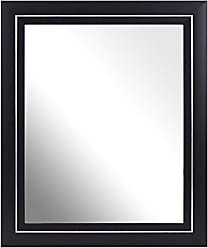 Scoop Chrome Pack of 2 Inov8 8 x 6-Inch British Made Traditional Mirror