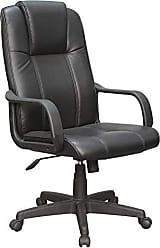 Pelegrin Cadeira Presidente Pelegrin Em Couro Pu Preta Pel-229h