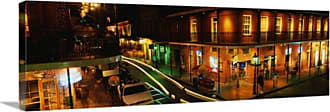 Great Big Canvas Bourbon Street New Orleans Thick-Wrap Canvas Wall Art Print - 74911_24_36X12_NONE