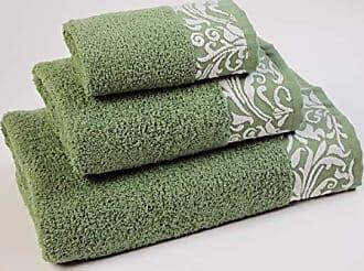 Vossen Cult Deluxe Asciugamani tinta unita 50 cm x 100 cm verde