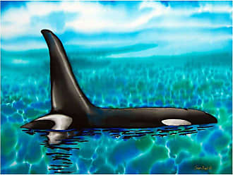 Louis Leonard Art Orca by Jean-Baptiste Canvas Wall Art - JEB009-18X24