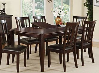 Poundex PDEX-F2179 Dining Tables, Brown