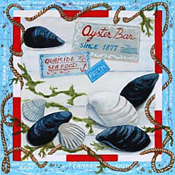 Buyartforless Buyartforless Oyster Bar by Adrianna 8 X 8 Poster