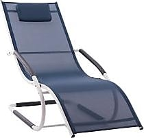 Ashley Furniture Patio Wave Lounger, Navy