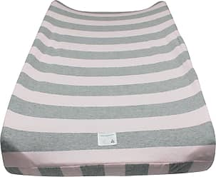 Burt's Bees Baby Bold Stripe Organic BEESNUG Fitted Changing Pad Cover - Blossom - One Size