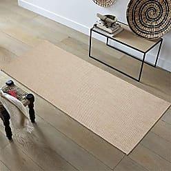 Ottomanson JRD8701-2X5 Jardin Collection Solid Design Runner Rug, 2 x 5, Cream