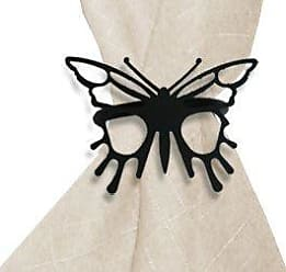 Village Wrought Iron 2.06 Inch Butterfly Napkin Ring