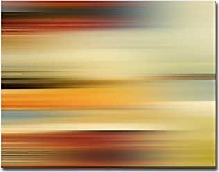 Ready2HangArt Ready2hangart Blur Stripes L Canvas Wall Art, 16 x 12