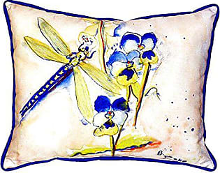 Betsy Drake SN387 Dragonfly Pillow, 11 x14