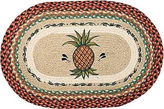 Earth Rugs 65-375P Rug, 20 by 30, Harvest Orange/Brown/Natural