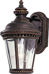 Feiss Castle Wall Mount Lantern in Bronze Finish