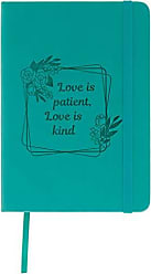 AngelStar Notebook Patient, Love is Kind, Multicolored