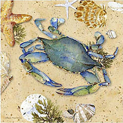 Thirstystone Occasions Trivet, Blue Crab-II, Multicolor