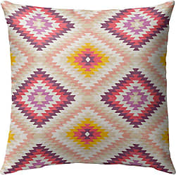 Kavka Designs Dakha Outdoor Pillow Dark Pink - OPI-OP16-16X16-MGT2142