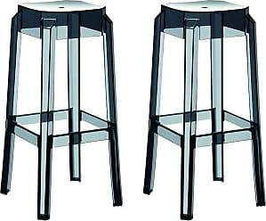 Moderna sedia bar mobili contatore sgabello cromato in acciaio