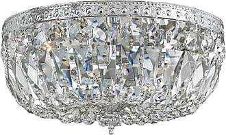 Crystorama 714-CH-CL-MWP Clear Hand Cut Crystal Basket