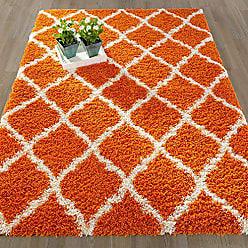 Ottomanson Ottomanson SHG2271-3X5 Shag Rug, 33X47, Orange