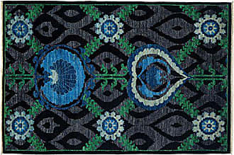 Solo Rugs Suzan Hand Knotted Area Rug 4 2 x 6 1 Black