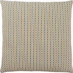 Monarch Specialties Abstract Dot 18 x 18 Gold/Grey 1 Piece Pillow