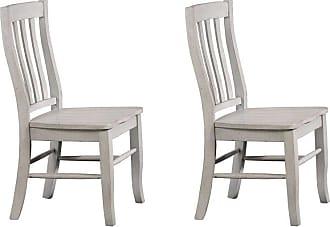 Winners Only Rake Back Side Chair - Set of 2 - WIN657-1